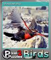Pixel Puzzles 2 Birds Foil 7