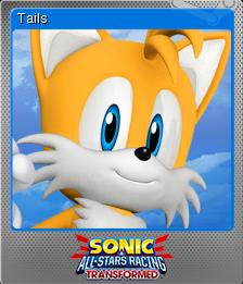 Sonic & All-Stars Racing Transformed Foil 2