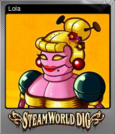 SteamWorld Dig Foil 4