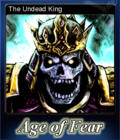 Age of Fear The Undead King Card 6