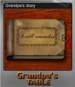 Grandpa's Table Foil 08