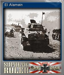 Supreme Ruler 1936 Foil 5