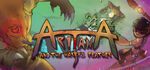 Aritana and the Harpys Feather Logo