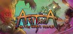 Aritana and the Harpys Feather Logo
