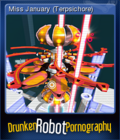Drunken Robot Pornography Card 1