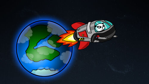 Super Panda Adventures Artwork 2