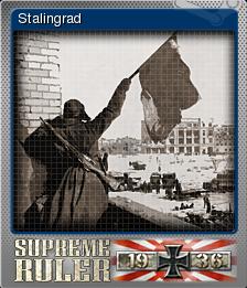 Supreme Ruler 1936 Foil 3