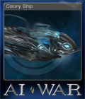 AI War Fleet Command Card 4