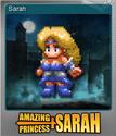 Amazing Princess Sarah Foil 01