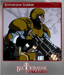 BloodRayne Betrayal Foil 14