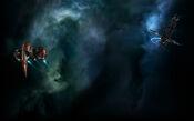 EVE Online Background Wormhole Exploration