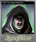 Age of Fear The Undead King Foil 4