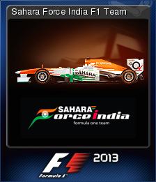 F1 2013 Card 06