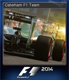 F1 2014 Card 01