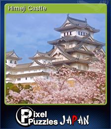 Pixel Puzzles Japan Card 07