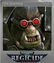 Warhammer 40,000 Regicide Foil 08