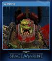 Warhammer 40,000 Space Marine Card 15
