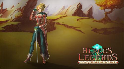 Heroes & Legends Conquerors of Kolhar Artwork 7