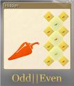 Odd Even Foil 2