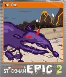 Draw A Stickman Epic 2 Ink Rat Steam Trading Cards Wiki