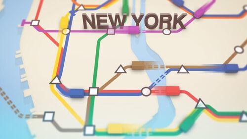 Mini Metro Artwork 4
