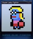 Super Blue Fighter Card 2