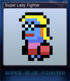 Super Blue Fighter Card 2