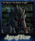 Age of Fear The Undead King Card 1