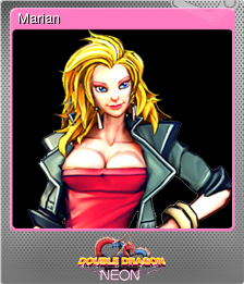 Double Dragon Neon Marian Steam Trading Cards Wiki Fandom