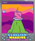 Glorkian Warrior The Trials Of Glork Foil 6