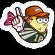 Blowy Fish Badge 2
