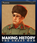 Making History The Great War Card 5
