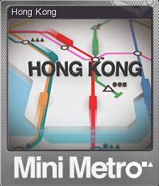 Mini Metro Foil 1