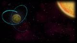 Orbit Background Orbit Comet and Sun