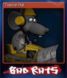 Bad Rats Card 1