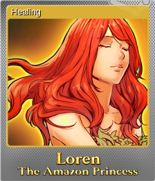 Loren The Amazon Princess Foil 4