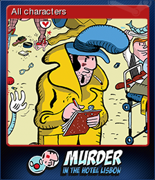 Murder in the Hotel Lisbon Card 1