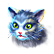 Prime World Emoticon cat