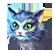 Prime World Emoticon cat