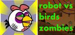 Robot vs Birds Zombies Logo