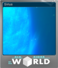 Six Sides of the World Foil 3