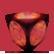 Why So Evil Emoticon LightRedCube