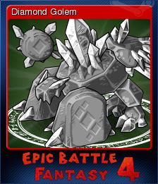 Epic Battle Fantasy 4 Card 08