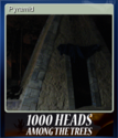 1,000 Heads Among the Trees Card 3