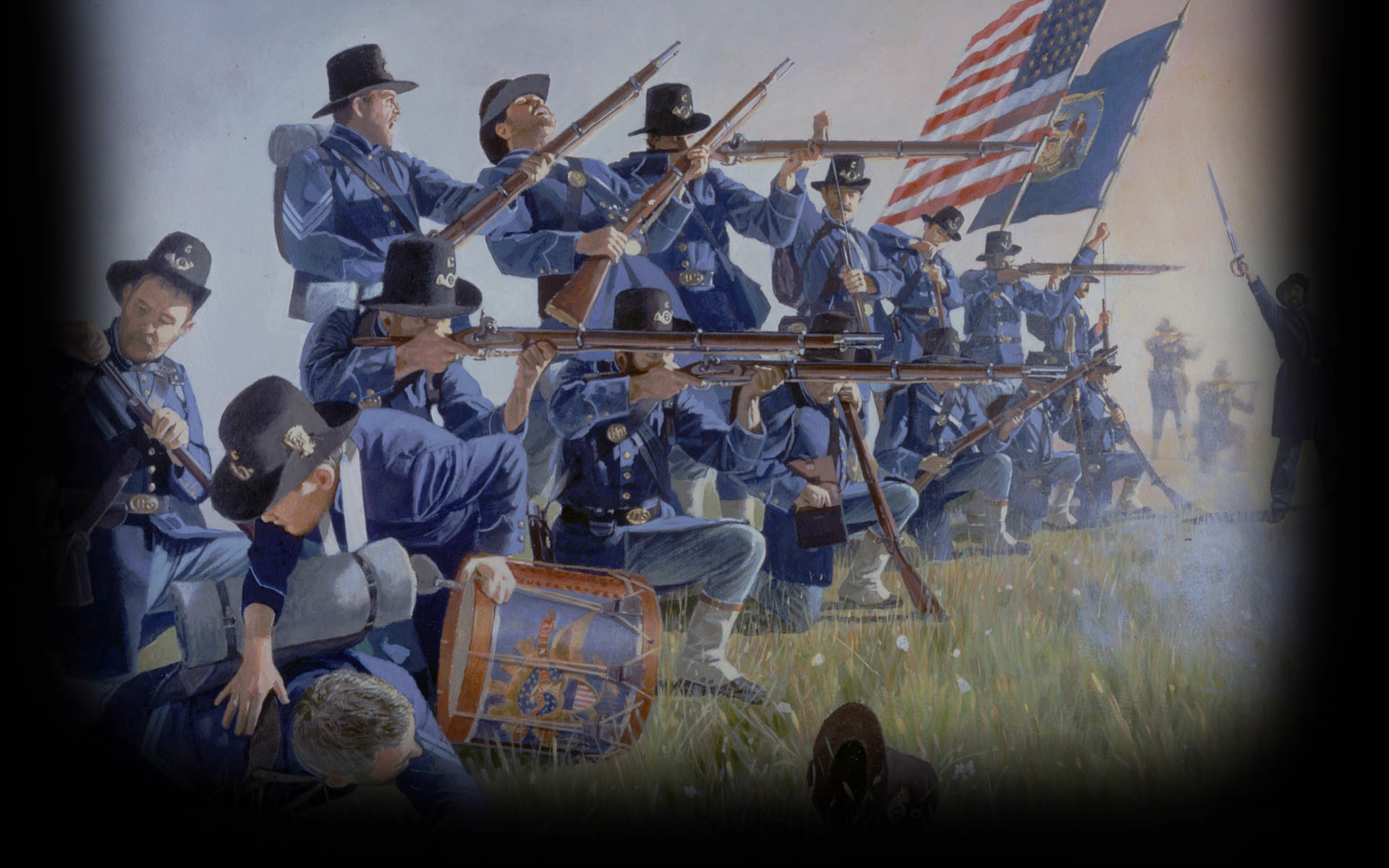 the background of the american civil war The 12 april 1861 is widely regarded as the start of the civil war in america - but was that the true beginning of the american civil war.