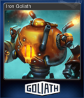 Goliath Card 3