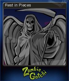 Zombie Gotchi Card 5