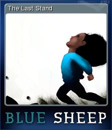 Blue Sheep Card 3