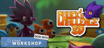 Chucks Challenge 3D Logo