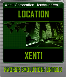 Hacker Evolution Untold Foil 4